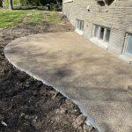 exposed aggregate patio