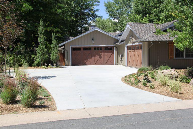 concrete driveway denver
