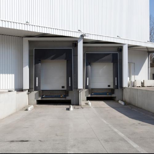 industrial loading dock